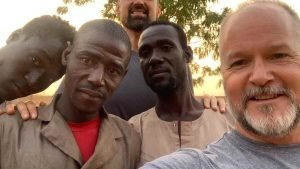 Scott and Kyle Jungers in Niger Africa